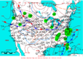 2005-03-17 Surface Weather Map NOAA.png