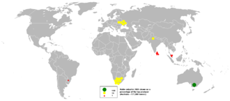 Rutile - Rutile output in 2005