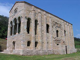 Santa María del Naranco - Image: 20060630 Oviedo Santa Maria del Naranco