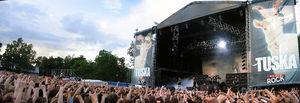Tuska Open Air Metal Festival - Slayer playing as the main act in 2008.
