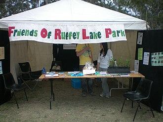Ruffey Lake Park - Image: 2008 Manningham Spring Festival 6