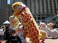 2008 Olympic Torch Relay in SF - Lion dance 28.JPG