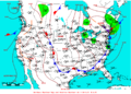 2009-07-18 Surface Weather Map NOAA.png