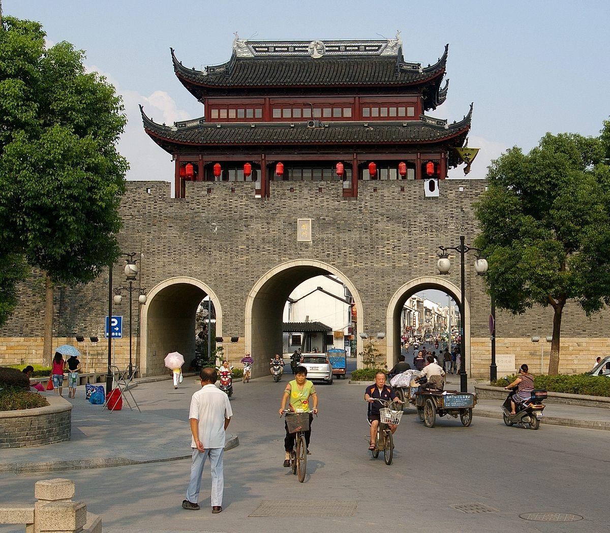 City Wall Of Suzhou Wikipedia