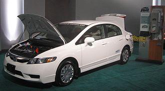 Honda Civic GX - Image: 2009 Honda Civic NGV DC