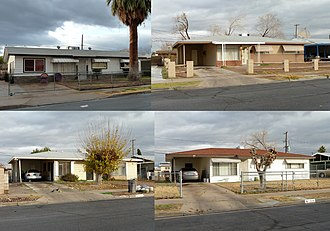 National Register of Historic Places listings in Clark County, Nevada - Image: 2010 1218 Berkley Square