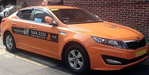Transportation in Seoul - Taxi in Seoul.
