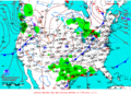 2012-02-18 Surface Weather Map NOAA.png