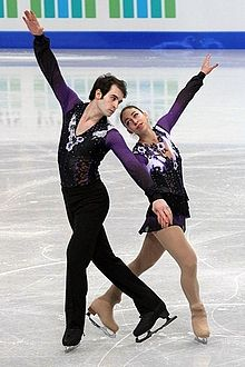 2012 World Junior FS Camille Mendoza Christopher Boyadji.jpg