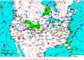 2013-04-22 Surface Weather Map NOAA.png