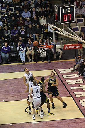 Shot clock - Image: 20130103 Mitch Mc Gary shot clock game clock (2)