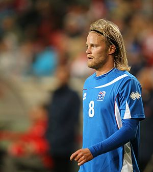 Birkir Bjarnason - Birkir playing for Iceland in 2014