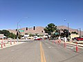 2014-06-12 10 39 59 View northwest along Melarkey Street at U.S. Route 95 (West Winnemuca Boulevard and Melarkey Street) and Nevada State Route 289 (Winnemucca Boulevard) in Winnemucca, Nevada.JPG