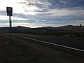 2014-07-28 07 55 55 View east along U.S. Route 50 at the junction with Nevada State Route 722 (Carroll Summit Road) in Lander County, Nevada.JPG