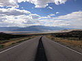 2014-08-09 15 46 04 View west along U.S. Routes 6 and 50 about 81.1 miles east of the Nye County line in White Pine County, Nevada.JPG