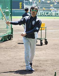 Michihiro Ogasawara Baseball player and coach from Japan