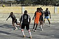 2015 03 04 AMISOM Police football players play with Dharkenley Team-3 (16715239672).jpg