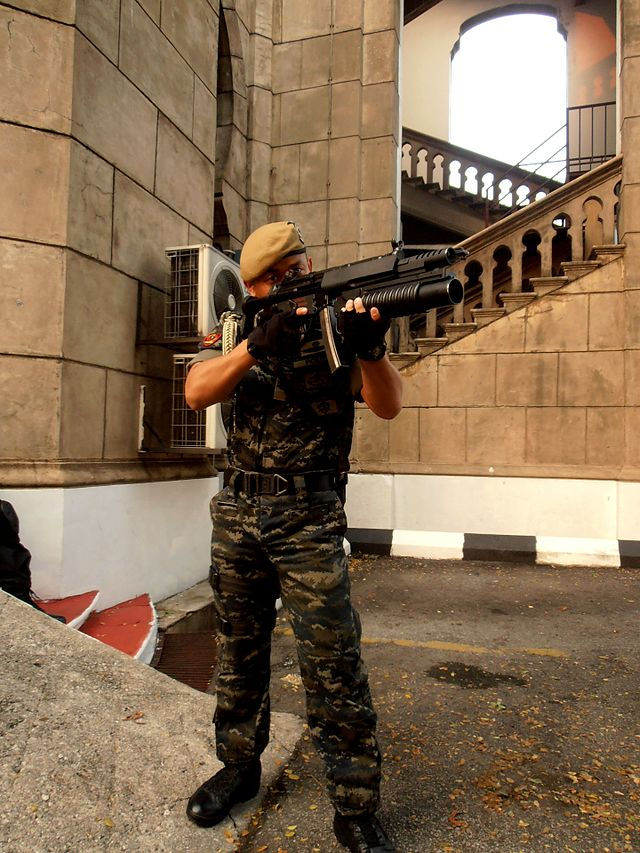 M203 grenade launcher - Wikiwand