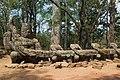 2016 Angkor, Angkor Thom, Brama północna (06).jpg