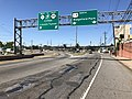 2018-07-07 16 02 06 View north along U.S. Route 1 and U.S. Route 9 (Tonnele Avenue) at the junction with New Jersey State Route 3 (Secaucus Bypass) in North Bergen Township, Hudson County, New Jersey.jpg