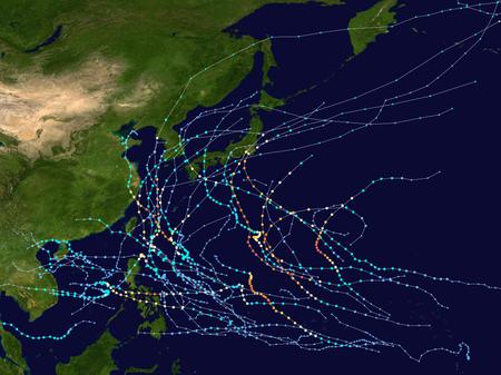 Mùa bão Tây Bắc Thái Bình Dương 2019