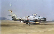 20th Fighter Wing F-84 at RAF Wethersfield