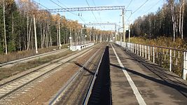 214 km BMO railway platform (common view from east platform).JPG