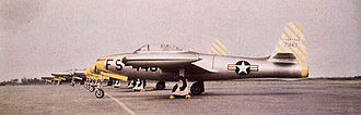 50th Operations Group - 33d Fighter Group F-84Cs at Otis AFB