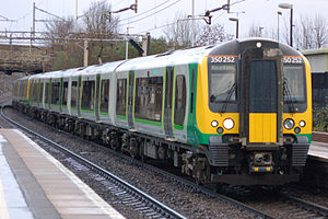 London Midland - Image: 350252 at Watford Junction