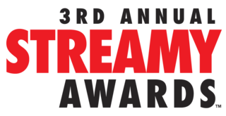 3rd Streamy Awards 2013 awards ceremony recognizing online video