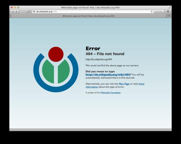 Los códigos de error en la web