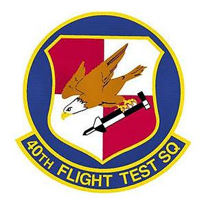 40th Flight Test Squadron - Image: 40thflighttestsquadr on