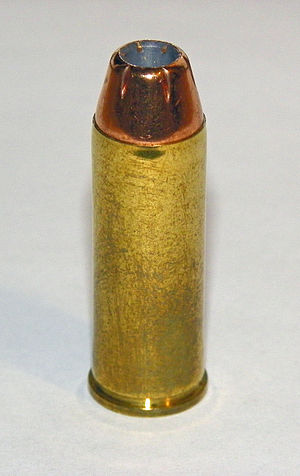 English: .45 Colt cartridge featuring a Jacket...