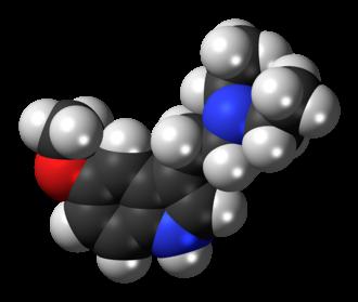 5-MeO-DET - Image: 5 Me O DET molecule spacefill