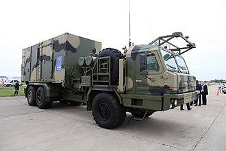 S-350E Vityaz 50R6 - Image: 50P6E MAKS2013firstpix 03