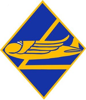50th Troop Carrier Wing - Image: 50th Air Division crest