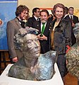 50th Queen Sofia Exhibition Teddy Cobeña and the Queen of Spain.jpg