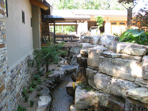 Patio Waterfalls Enhance Your Small Space