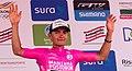 5 Etapa-Vuelta a Colombia 2018-Ciclista Brayan Hernandez-Lider Novatos.jpg