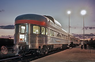 Silver Streak (film) - The train in the film was a disguised Canadian Pacific passenger train with an observation car. Much of the filming took place in Canada between Toronto and the Rocky Mountains