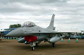Royal Norwegian Air Force - General Dynamics F-16AM at RIAT 2010