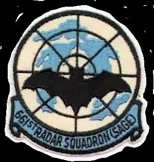661st Radar Squadron - Emblem of the 671st Radar Squadron