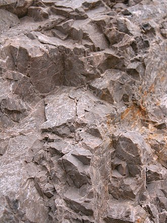 Dolomite - Upper Triassic dolostone of the Choč Nappe in Slovakia