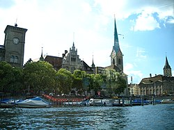 7302 - Zürich - View from Limmat.JPG