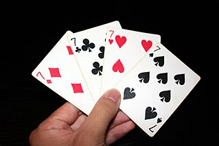 Playing card suit Categories into which the cards of a deck are divided