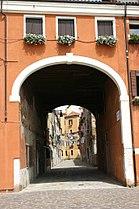 9082 - Venezia - Facciata palazzo della Marinarezza (1645) - Foto Giovanni Dall'Orto 10-Aug-2007.jpg