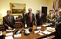 911- President George W. Bush with Senior Advisers.jpg