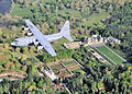 95th Airlift Squadron C-130 over Biltmore House NC.jpg