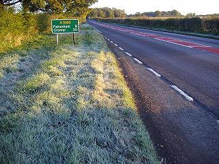A1065 road road