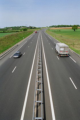 image illustrative de l'article Autoroute A77 (France)